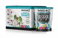 BRL INVIGOR8 Superfood Shake - 43 grams (12 pack)