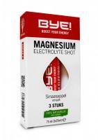 BYE! Magnesium Electrolyte Shot - 3 x 75 ml