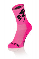 Lightning Socks Pink