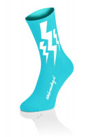 Lightning Socks Fluo Blue