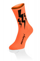 Lightning Socks Fluo Orange